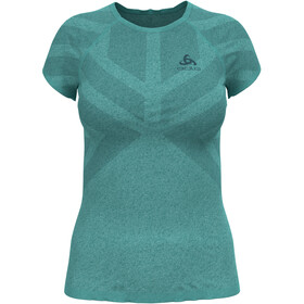 Odlo Kinship Light Top Crew Neck S/S Women, jaded melange